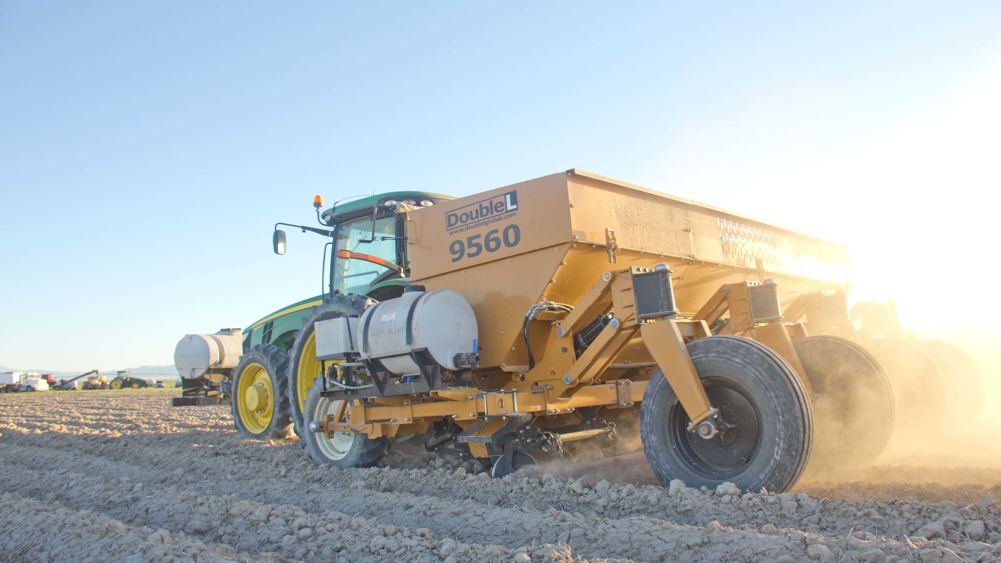 The simple design of the 9500 Series Potato Planter lessens downtime for maintenance